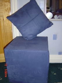Stool And Cushion