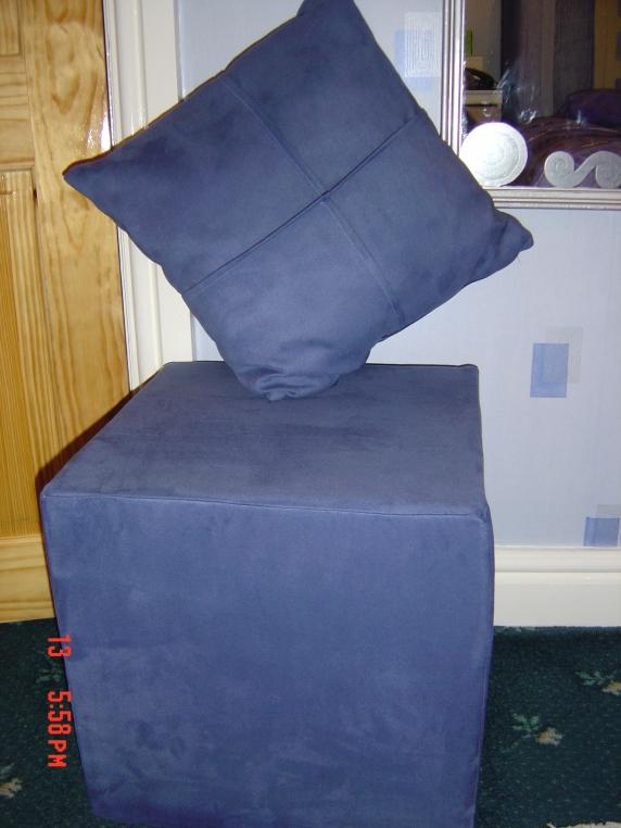 Stool And Cushion